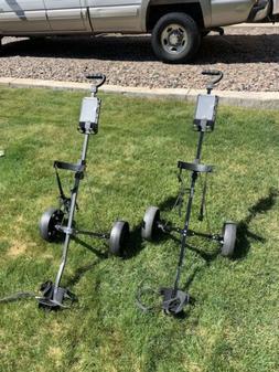 Compact Golf Pull Carts, Silver Scot TA-25