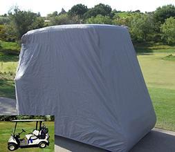 Lmeison 2 Passenger Waterproof Dustproof Golf Cart Cover, Fi