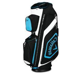 2019 Callaway Golf Chev Org Cart Bag - Black/Blue/White