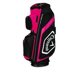 2019 Callaway Golf Chev Org Cart Bag - Pink/White/Black