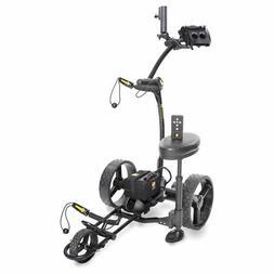 2021 BLACK Bat Caddy X4R Remote Control Electric Golf Bag Ca