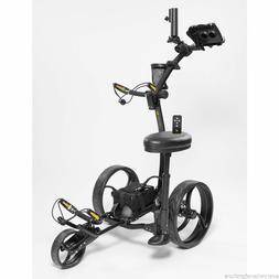 2021 Bat Caddy X8R LITHIUM Black Remote Control Electric Gol