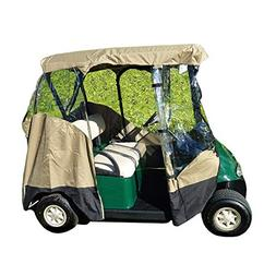 Formosa Covers 3 Sided Drivable Golf Cart 2 seater Enclosure