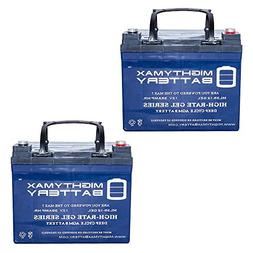 Mighty Max Battery 12V 35AH Gel Battery Replacement for Spit