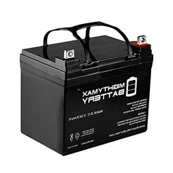 Mighty Max Battery 12V 35AH SLA Battery Replacement for Bat-