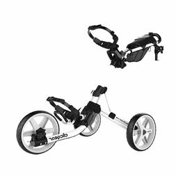 Clicgear 4.0 Push-Pull Golf Cart for Walking - White **NEW I