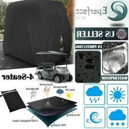 4 Passengers Golf Cart Cover Waterproof for EZGO Club Car Ya