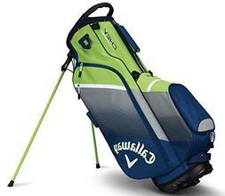 Callaway Golf 2018 Chev Stand Bag, Navy/Silver/ Green