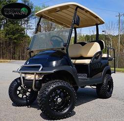 "Club Car Precedent Golf Cart 6"" Lift Kit + 12"" Wheels and 23"