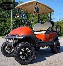 "Club Car Precedent Golf Cart 6"" Lift Kit + 14"" Wheels and 23"