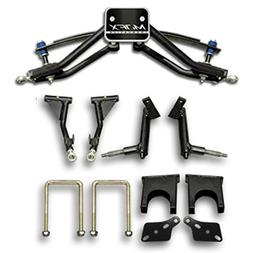 "Madjax 6"" 2004-14 A-Arm Lift Complete Kit for Club Car Prece"