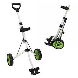 Young Gun Kids Adjustable Golf Cart for Junior Golfers 3-14