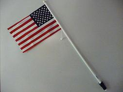 Prenmac American Flag for Golf Cart, Fits into Rake Hole