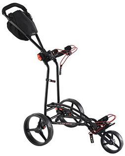 Big Max Golf Auto Fold Ff Trolley Black