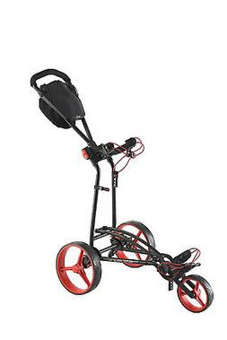 Big Max Golf Auto Fold Ff Trolley Black/Red