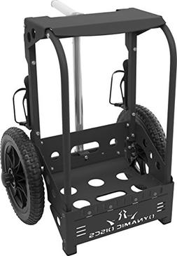 Dynamic Discs Backpack Disc Golf Cart by ZUCA - Matte Black