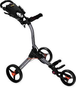 Bag Boy C3 Compact Push Cart Grey/Orange