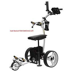 Bat Caddy X4 Pro LITHIUM Electric Golf Push Cart Trolley+Fre