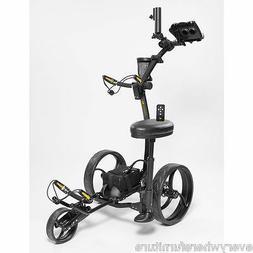 Bat Caddy X4R Lithium Remote Electric Golf Push Cart w/ Free
