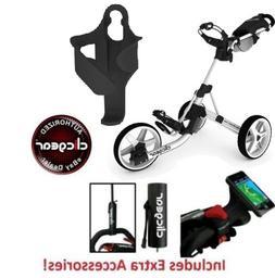 Best Value New Clicgear 3.5 Golf Push Cart + EXTRAS! Arctic