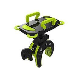 Bike Handlebar Phone Mount Golf cart Holder with Rubber Stra