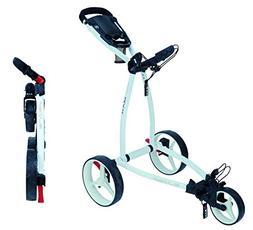 Big Max Golf Blade IP Push Pull Golf Cart, White
