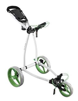 Big Max Golf Blade IP Push Pull Golf Cart, White Lime