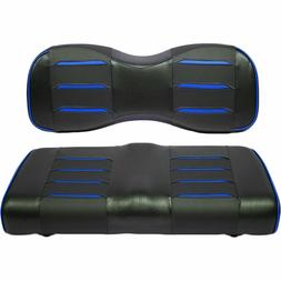 BU Prism Rear Seat Covers for Golf Carts with GTW or Madjax