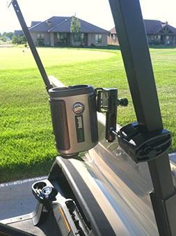 Caddie Buddy Golf Cart Mount/Holder for Laser Rangefinders.