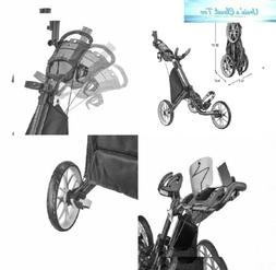 CaddyTek Caddylite EZ V8 - EZ-Fold 3 Wheel Golf Push Cart Da