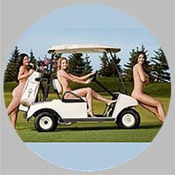 GOLF / Golf Cart Babes Golf Ball Marker w/ Magnetic Hat Clip