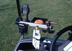 Molor Cart Clamp Golf Organizer, Black
