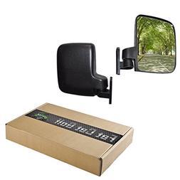 Golf Cart Side Mirrors 1 Pair 2 Mirrors Fits E-Z-GO Club Car