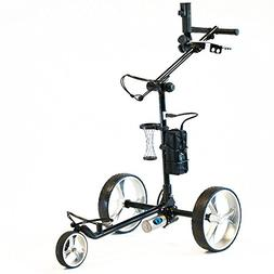 CartTek GRX-965LiB Black Electric Ion Battery Golf Trolley i