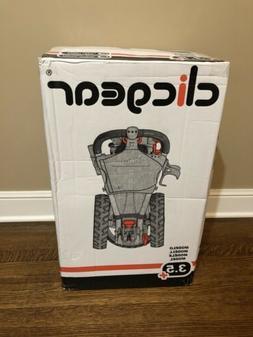 Clicgear CBLK 3.5+ Golf Push Cart - Charcoal/Black— NEW bo