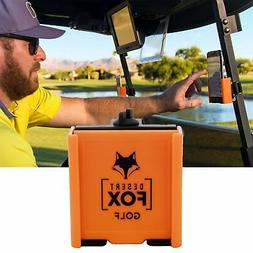 Cell Phone Holder for Golf Carts - Orange Phone Caddy