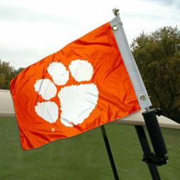 Clemson CU Tigers Boat and Golf Cart Flag