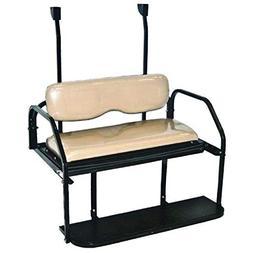 3G Club CAR Precedent Rear Flip Seat kit-TAN Fits 2004+