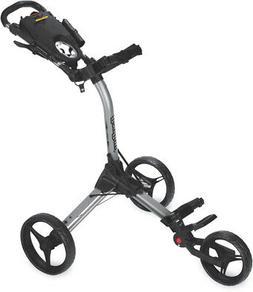 Bag Boy Compact 3 Push Cart Silver/Black