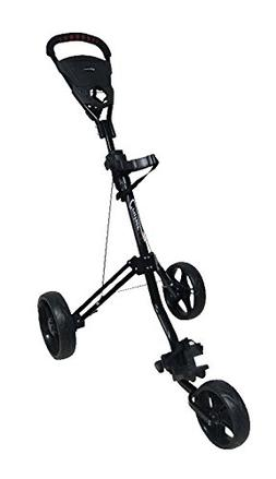 Tartan Cruiser Lx Deluxe Three Wheel Golf Cart, Black