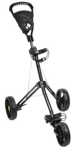 Callaway Day Tripper Push Cart Golf Trolley - Black by Calla