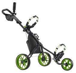 New CaddyTek Deluxe 3 Wheel Golf Push Cart Version 3, CaddyL