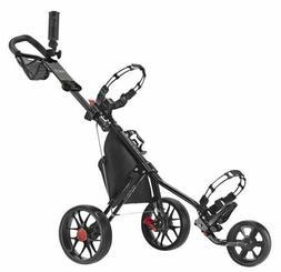 CaddyTek Deluxe 3 Wheel Golf Push Cart Version 3 CaddyLite 1