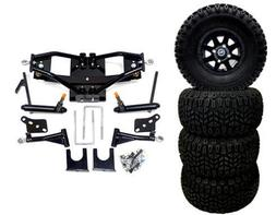 """3G 6"""" Deluxe Lift Kit Combo for Club Car Precedent w/ 10"""" To"""