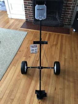 DELUXE STEEL GOLF CART 2 wheel push pull cart