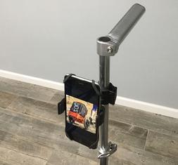 Disc Golf Cart Cell Phone Holder Mount Clamp On Mount bag ba