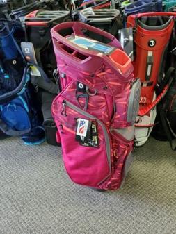 Sun Mountain Diva Golf Bag Cart berry leaf carbon