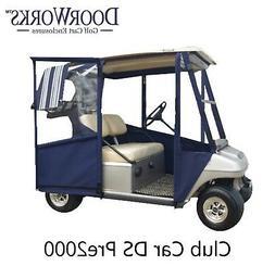 doorworks hinged door golf cart enclosures made