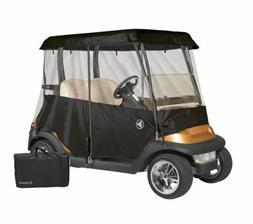 Drivable Person Golf Cart Enclosure Cover Fits 2 Person Cart