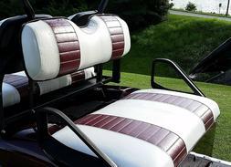 E-Z-Go RXV Golf Cart Custom Seat Cover Set - 2 STRIPE